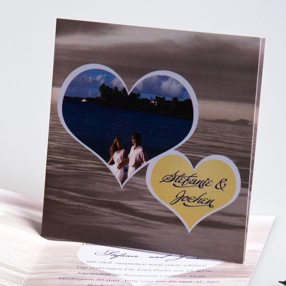 Sonnenaufgang ueber See Klassisch Fotokarten Hochzeit p OPB049 Romantische Sommerhochzeit am Strand in Blau & Grün