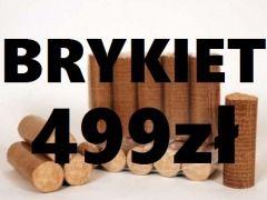 499zł/ tona BRYKIET drzewny KOMINKOWY Opole Wspólna 1