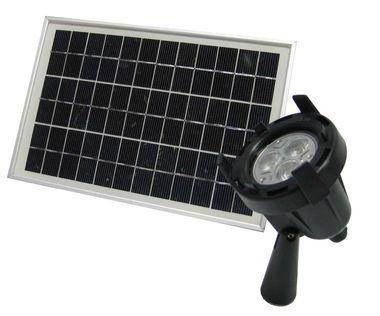 solar flagpole spotlight