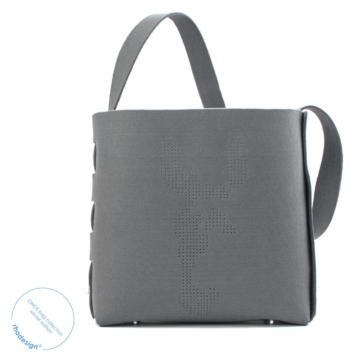 x-large handcrafted felt bag