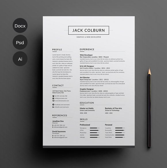 RESUME is the perfect way to make the best impression Strong - structure of a resume