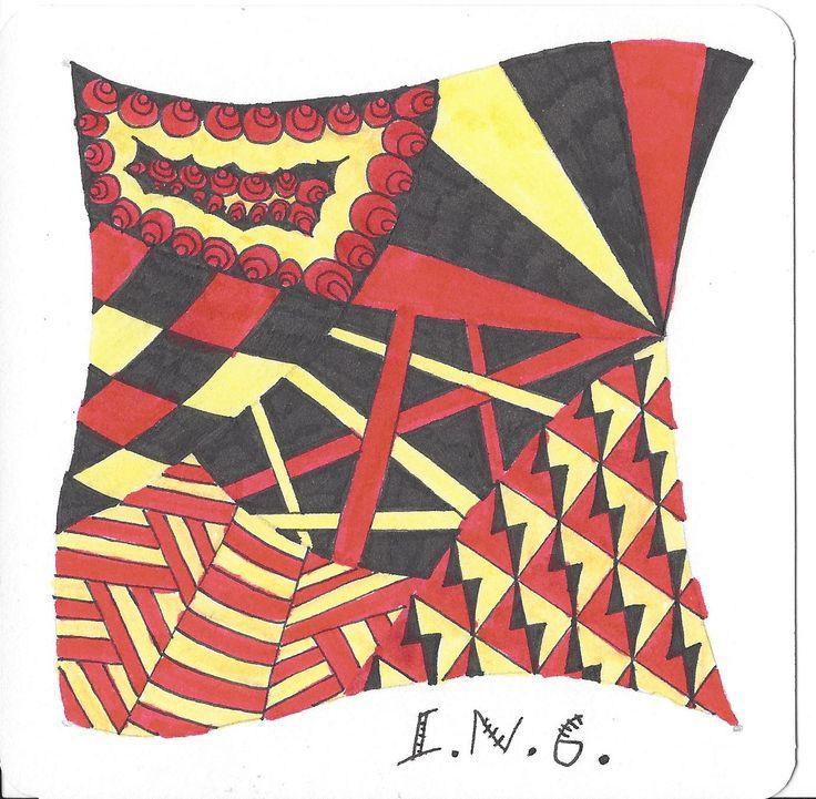 L.N.G. Original Zentangle #12