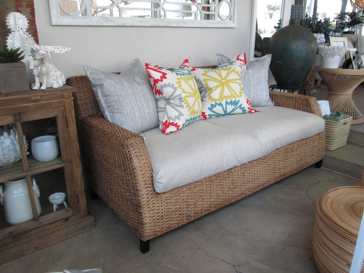 Our Cameroon Sofa in the Shop - Inside Out Home Boutique