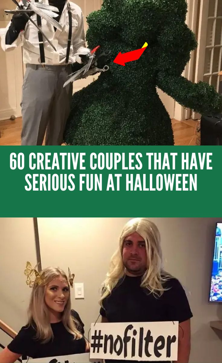 60 seriously creative couples that are winning Halloween
