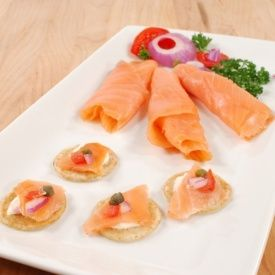 Bite into utter decadence with this divine smoked salmon from Scotland, mildly smoky and with subtle hints of Sherry.