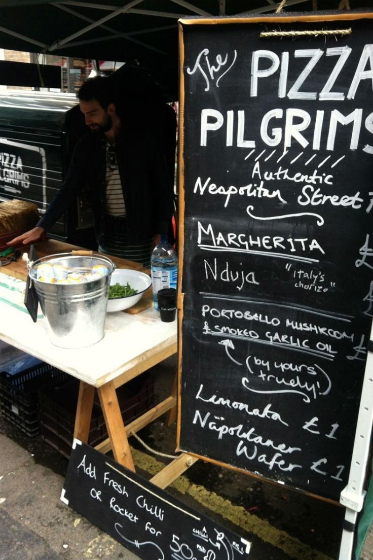 Pizza PilgrimsFood Festivals, Street Marketing, London Town, Street Food, Soho Places, Berwick Street, Pizza Pilgrim, Favorite Soho