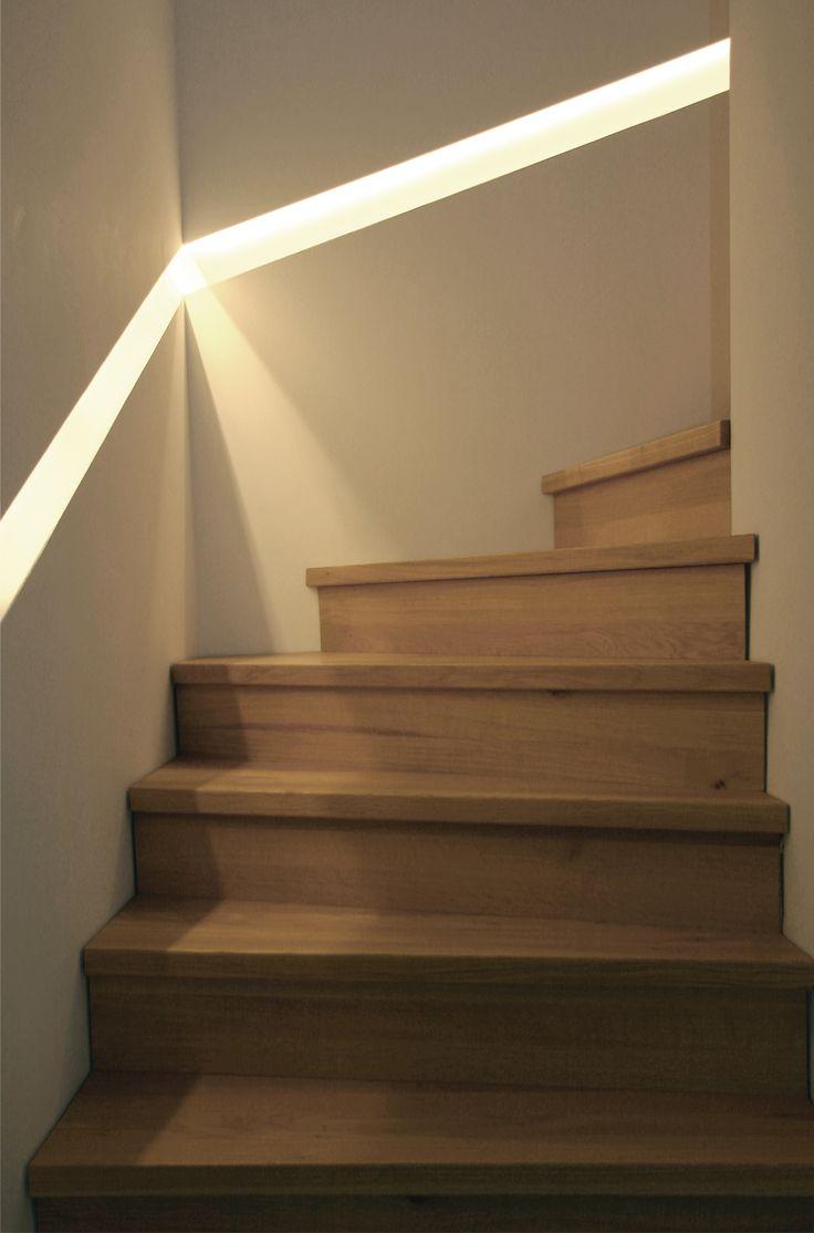 17 best images about treppe treppenbeleuchtung. Black Bedroom Furniture Sets. Home Design Ideas