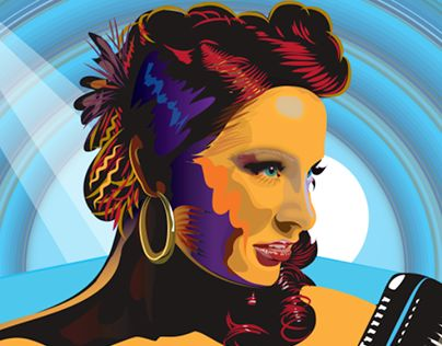 "Check out new work on my @Behance portfolio: ""Tia Brazda    Jazz Singer"" http://on.be.net/1HPA69n"