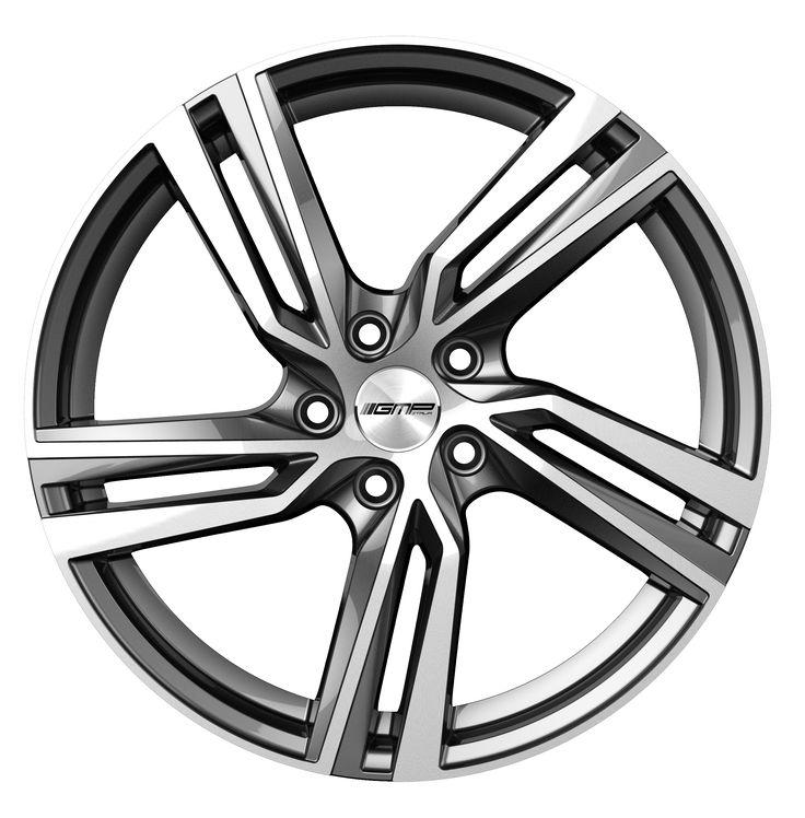 Arcan Anthracite Diamond Alloy wheel / Cerchio in lega leggera Arcan Antracite Diamantato Front