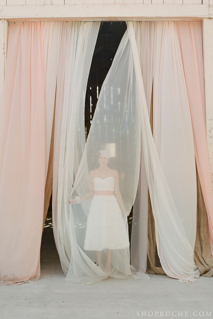 148 best backdrops images on pinterest marriage ribbon backdrop forever and a day ruches romantic spring 2013 bridal collection junglespirit Image collections