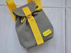 Шьем рюкзачок для игрушки за 1 час - Ярмарка Мастеров - ручная работа, handmade
