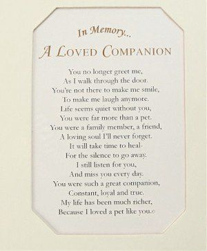 Discover And Share Grief Quotes Loss Of Pet