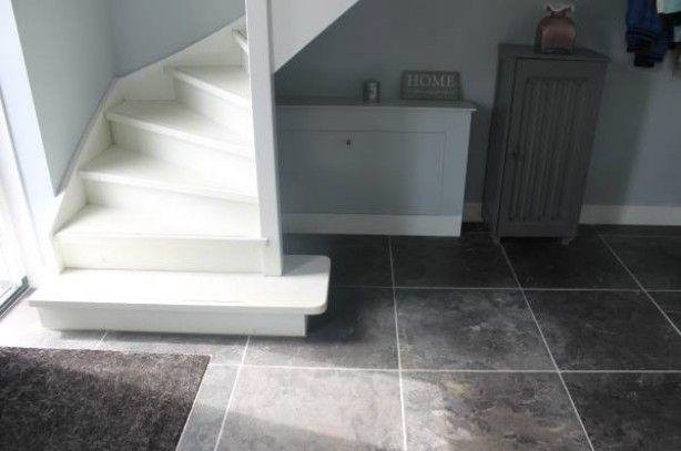 25 beste idee n over witte trap op pinterest trap trap makeover en hardhouten trap - Witte trap grijs ...