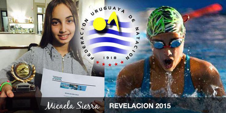 Micaela Sierra nuestra jóven nadadora, que desde nuestro barrio salió a conquistar el mundo, ha sido reconocida como REVELACIÓN 2015, por la Federación Uruguaya de Natación. Micaela Sierra Graf, comenzó su carrera en el Club A. Olimpia, su vocación viene de familia, es sobrina de la nadadora olímpic...