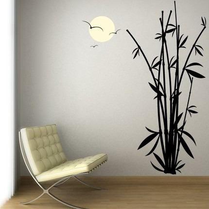 decorar con siluetas bambu - Buscar con Google