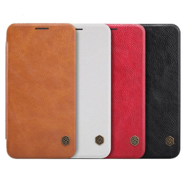 [US$8.69] NILLKIN Qin Leather Case Cover For Samsung Galaxy Grand Max G7200  #case #cover #g7200 #galaxy #grand #leather #nillkin #samsung