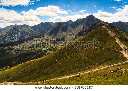 Southern view from Kasprowy Wierch peak in Polish Tatra mountains. --- © 2017 Marcin Świostek Photo All right reserved Feel free to share the original link. For other uses of the photo please contact me.