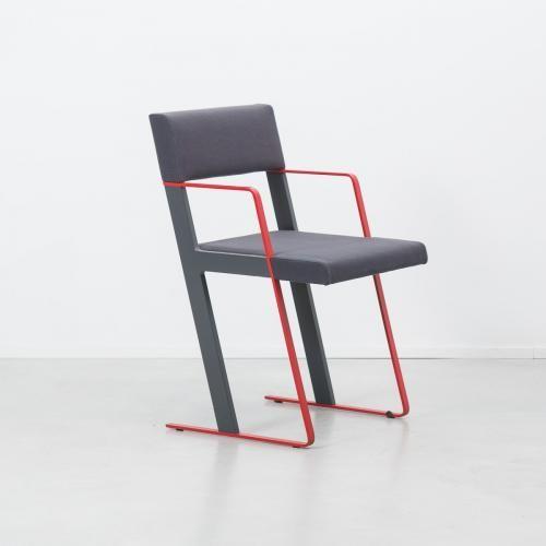 Dutch Postmodern Chair  Dick Spierenburg for Castelijn, 1978