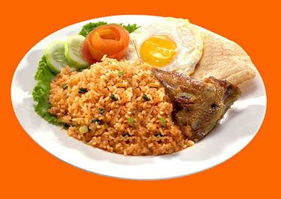 """Fried Rice""Indonesia Traditional food....it is easy to make it"