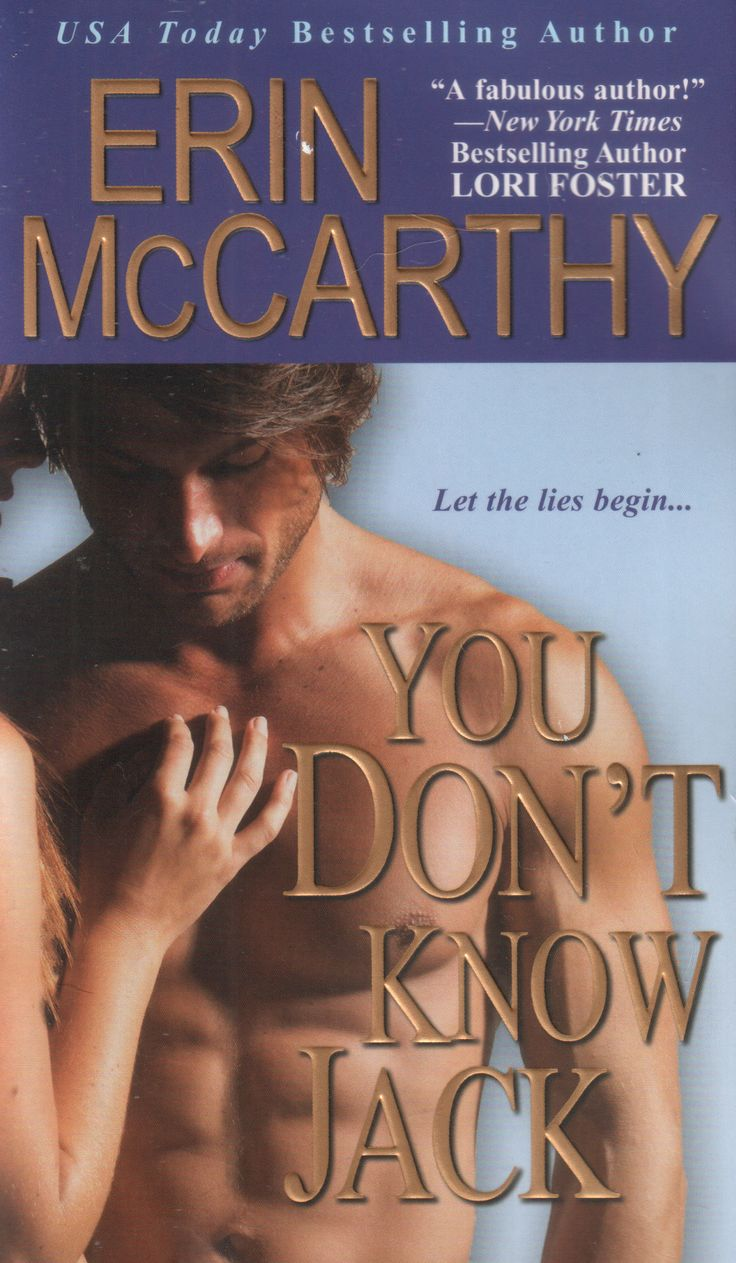 For my 6000th Tweet, another of my fave Paul Marron cvrs: @authorerin's YOU DON'T KNOW JACK -HAWT!