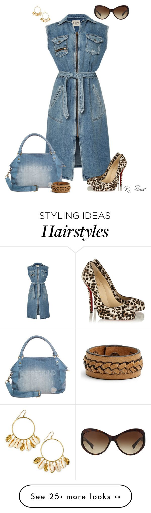 """Double Denim"" by ksims-1 on Polyvore"