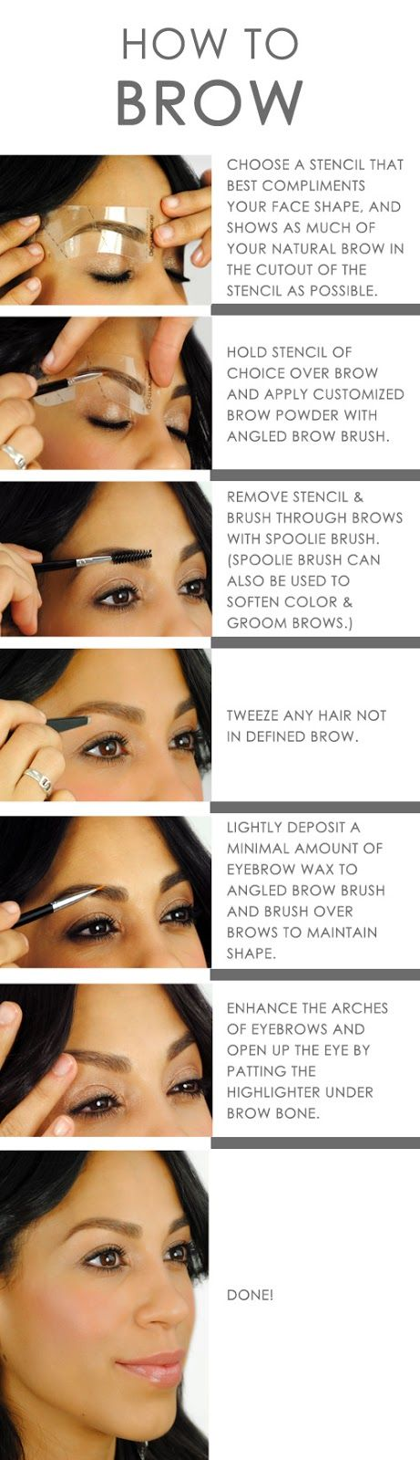 @Colorado Springs Dermatology Clinic CSDC glo How-To: Define Your Brows