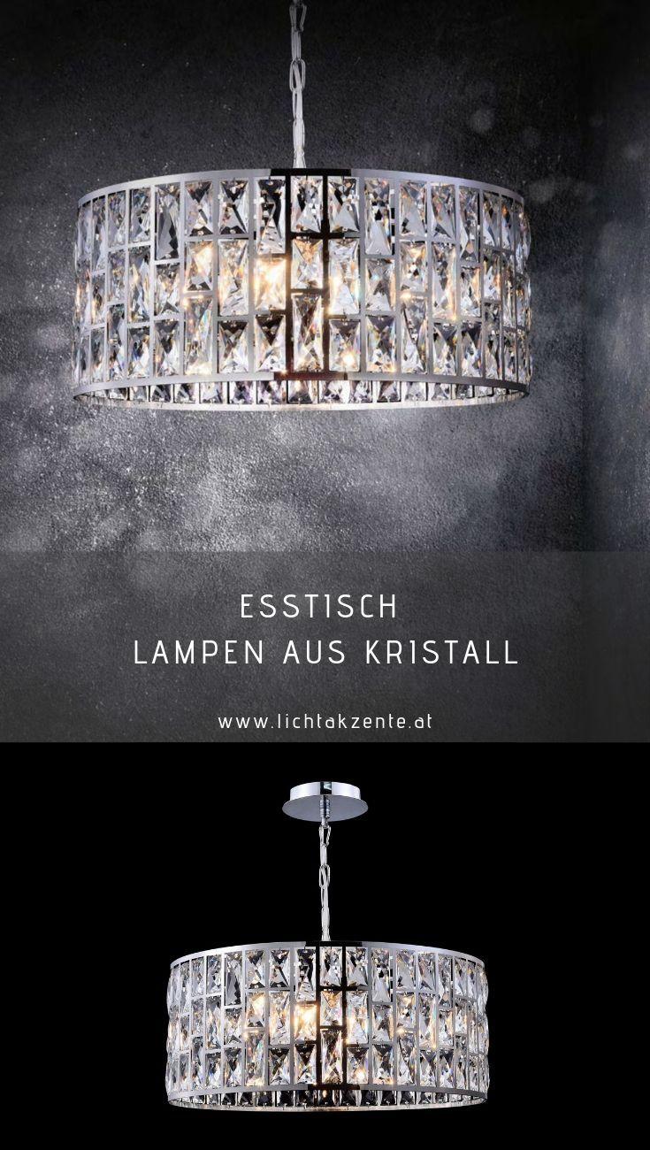 Maytoni Kristall Pendelleuchte Gelid | Kristall lampe