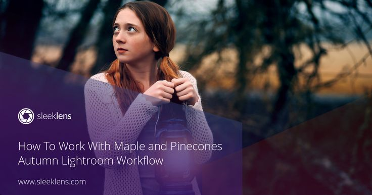 How to work with the Maple and Pinecones Lightroom preset workflows.