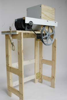 Motorize Your Grain Mill: Projects