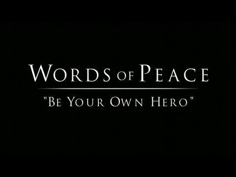 Be Your Own Hero / Prem Rawat - YouTube