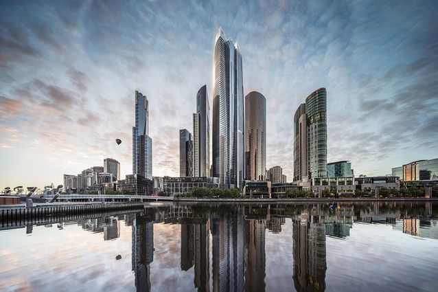 Architectus partners with Barangaroo tower firm on massive Melbourne skyscraper