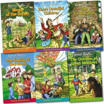 Clcik here to buy this book.  http://www.bookbundles.co.uk/enid-blyton-family-adventurers-6-books-series-gift-set-the-children-at-green-meadows-the-six-bad-b-277-p.asp
