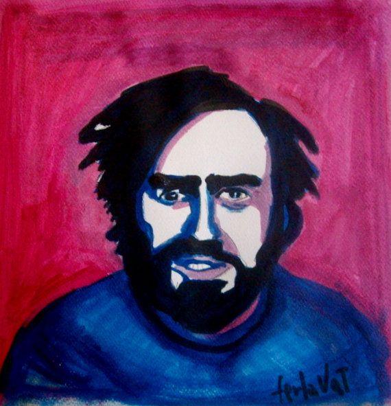 Pavarotti by NandoTelly on Etsy, €30.00