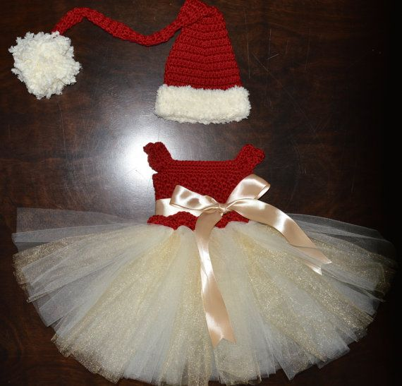 Hey, I found this really awesome Etsy listing at https://www.etsy.com/listing/201400063/crochet-christmas-tulle-tutu-dress
