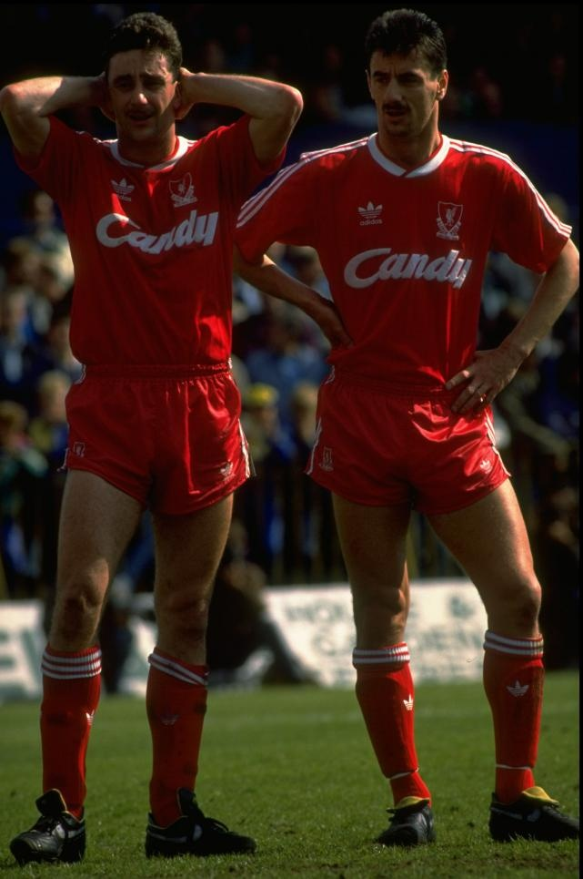 Ian Rush and John Aldridge. The Chuckle Brothers.