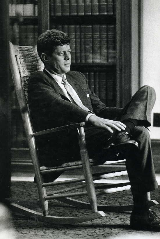 """Sure it's a big job; but I don't know anyone who can do it better than I can"" ~ John Fitzgerald Kennedy, 35th President of the United States"