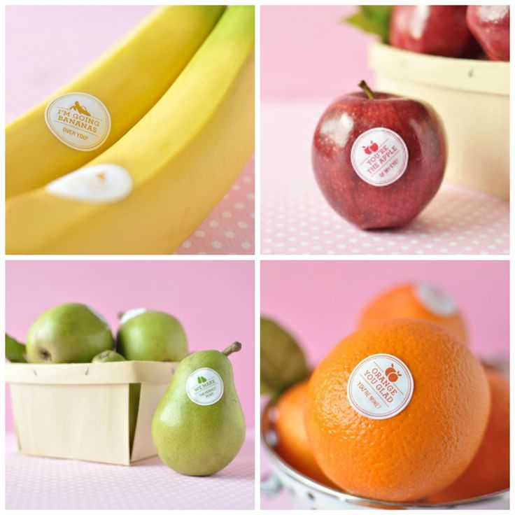are fruit stickers edible fruit recipes