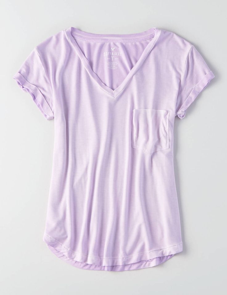 Display product reviews for AEO Soft & Sexy V-Neck Favorite T-Shirt