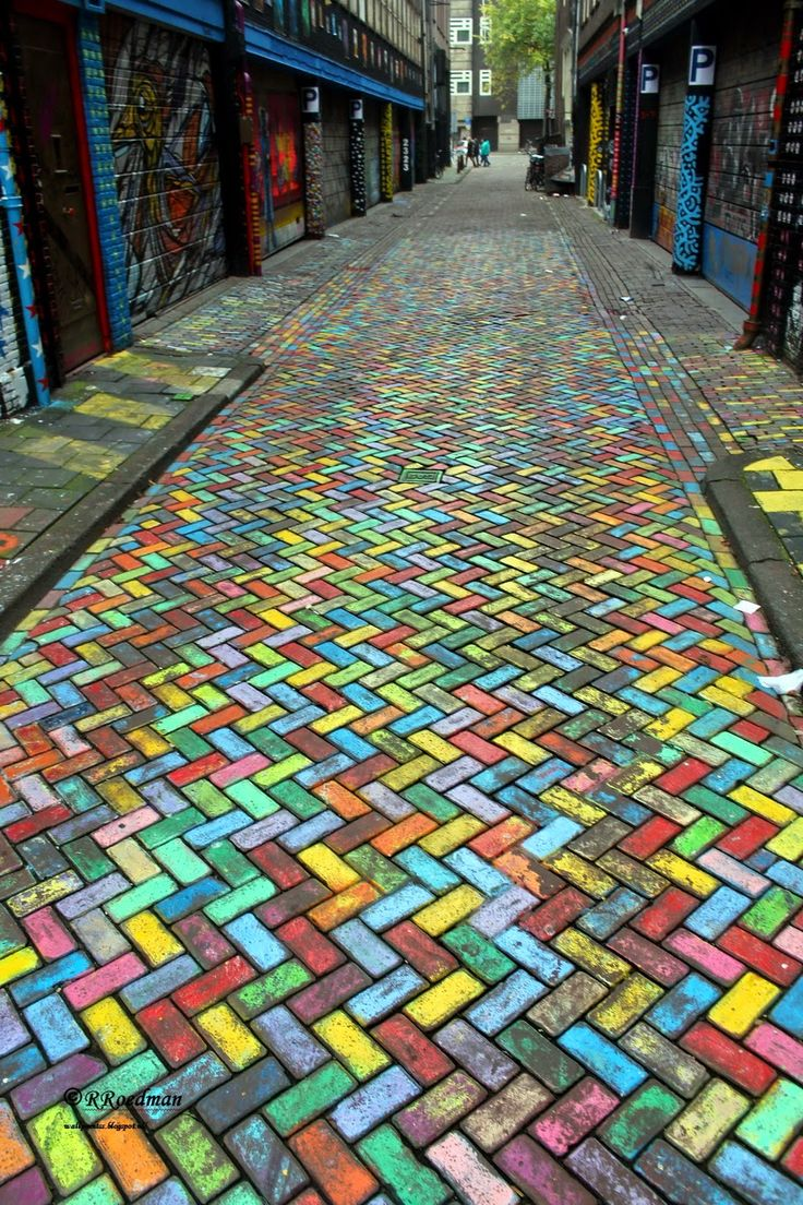 Wall paints, Muurschilderingen, Peintures Murales,Trompe-l'oeil, Graffiti, Murals, Street art.: Amsterdam - Netherlands spuistraat