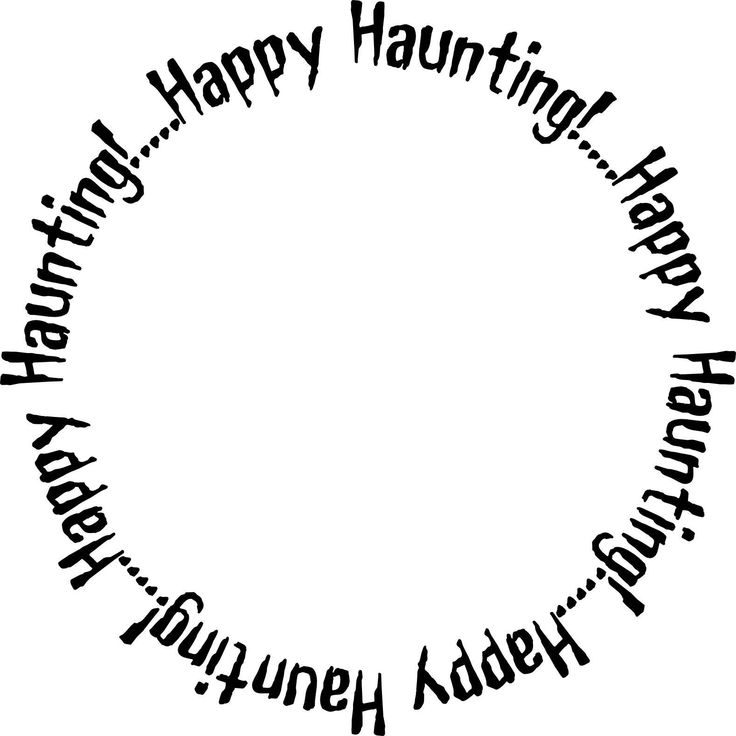 free halloween printables | Printable Halloween Frames - Printable Digital Halloween Frames