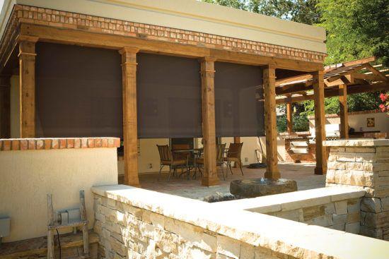 Oasis® 2800 Patio Sun Shades southwestern style patio