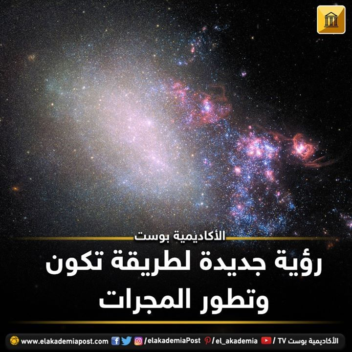 رؤية جديدة لطريقة تكوين وتطور المجرات توضح مجرة Ngc 4485 غير