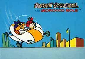 secret squirrel | Secret Squirrel according to Wingnut