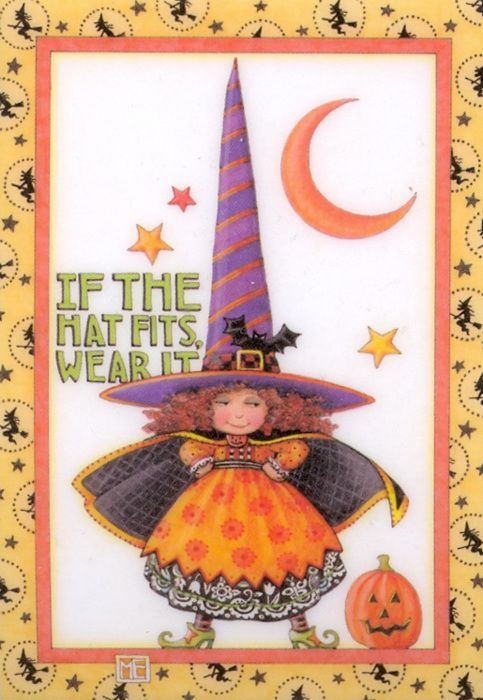 Mary Engelbreit - little witch