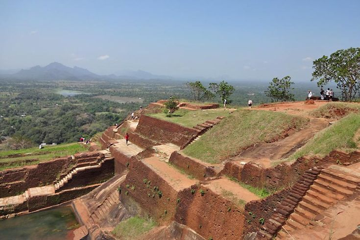 The view from Sigiriya Rock Fortress - part of my View from the Top series