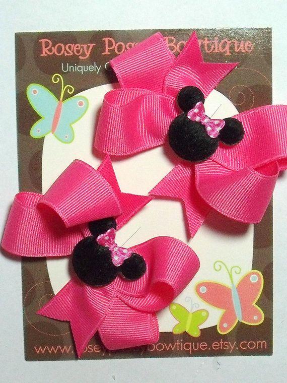 Minnie Mouse Hair Bows