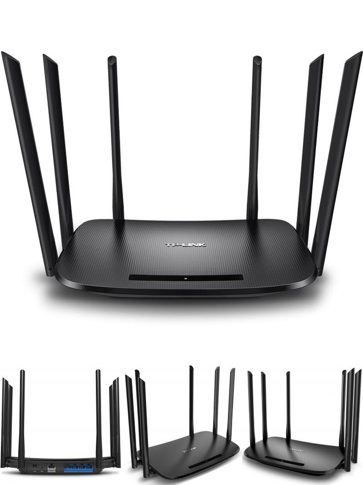[Visit to Buy] Wifi Repeater Tp-Link WDR7400 Wireless Router 6 Antenna 2.4ghz&5ghz 802.11ac 1750mbps Archer C7 Soho Router TP LINK TL-WDR7400  #Advertisement
