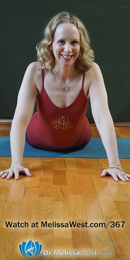 Yoga with Melissa 367 How to Balance in Hasta Padangusthasana or Standing Hand to Big Toe Pose