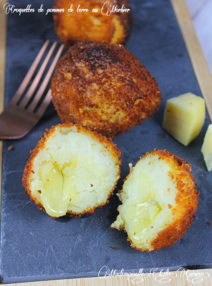 Croquettes fondantes de pommes de terre au morbier