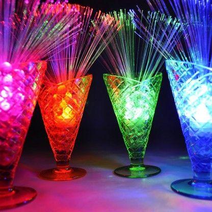 Sparkle Lites Fibre Optic Table Decorations More